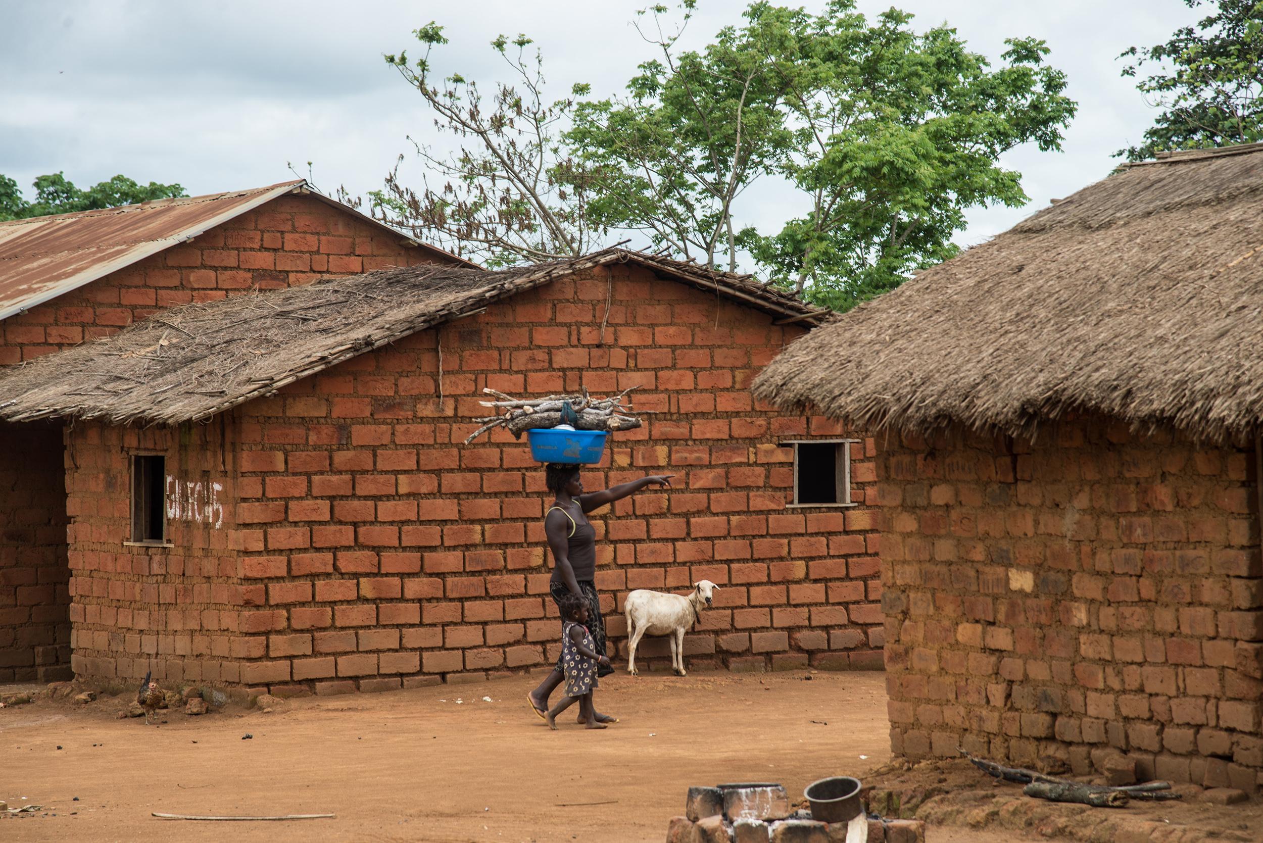 Village in DRC